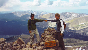 Long's Peak Summit w Greg